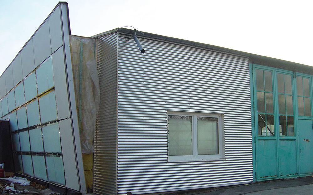 Turbo Fassadenverkleidung » DSE - Die Dach-Solar & Fassadenprofis in FF12